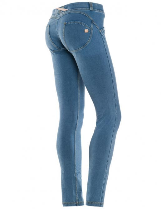 Freddy jeans světle modré, skinny střih