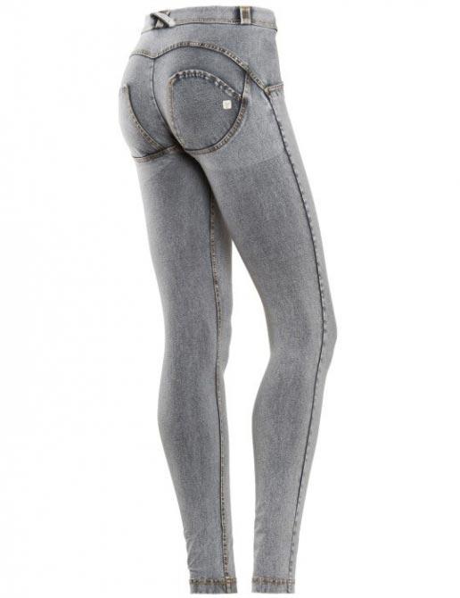 Freddy jeans šedivé, normální pas
