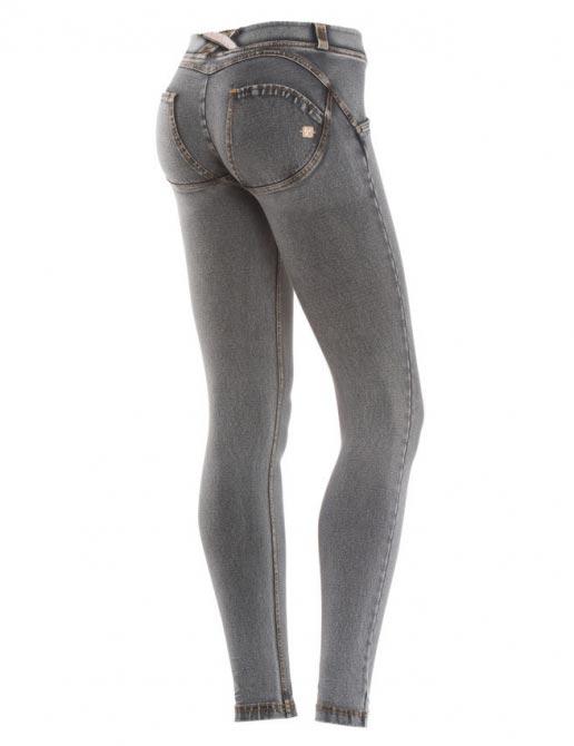 Freddy jeans šedivé, skinny střih