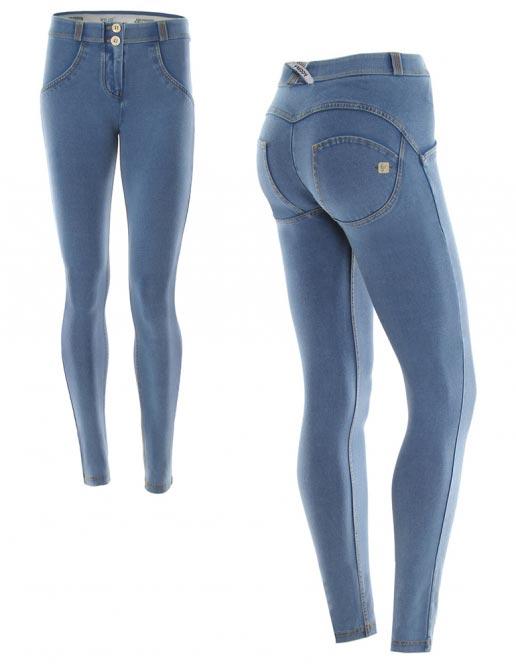 Freddy jeans světle modré, nízký pas