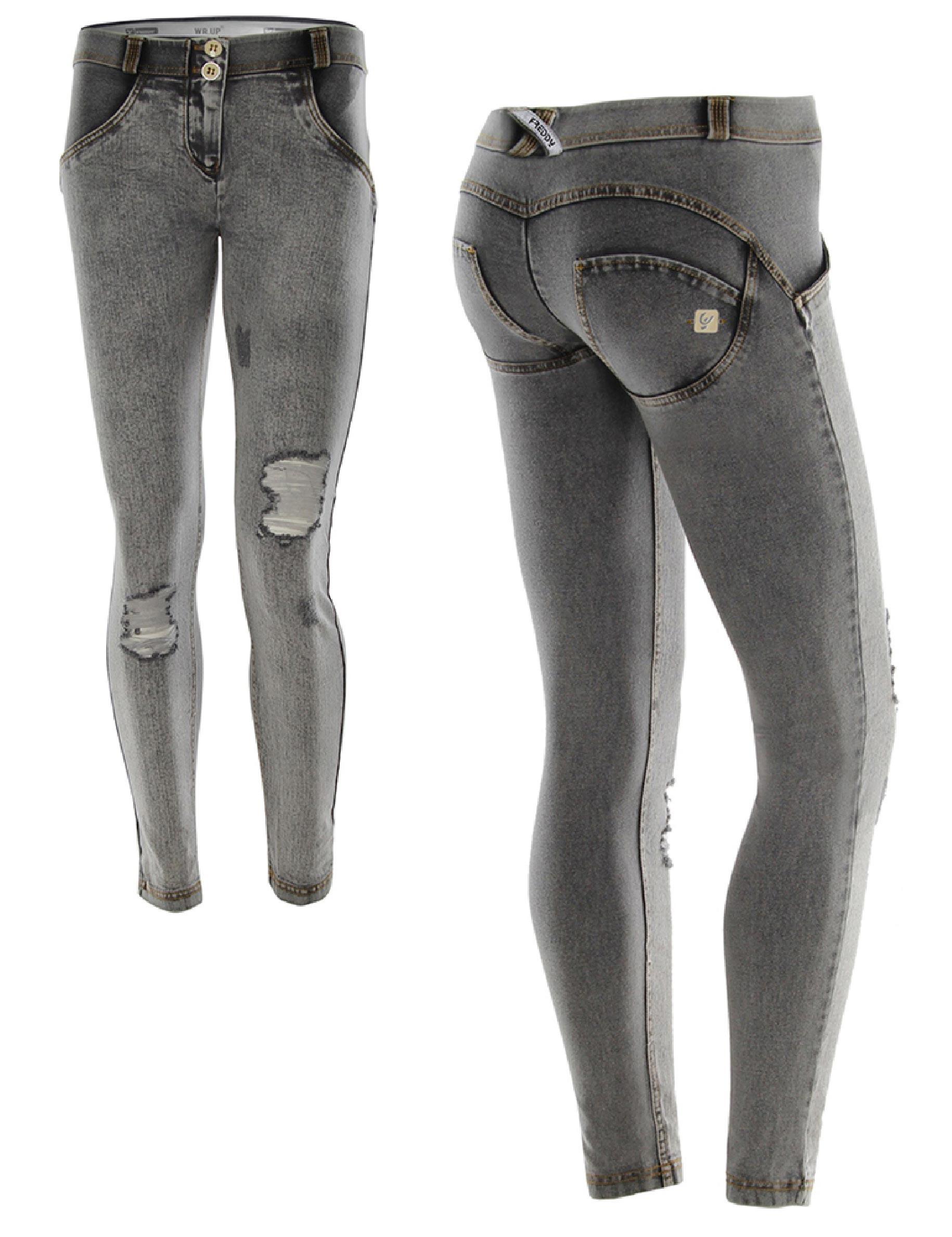 3177111ad3 Freddy jeans šedivé