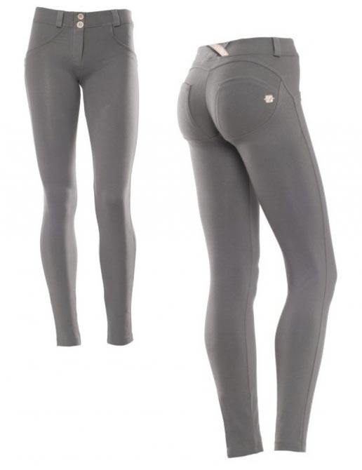 Freddy kalhoty tmavě šedé, skinny střih