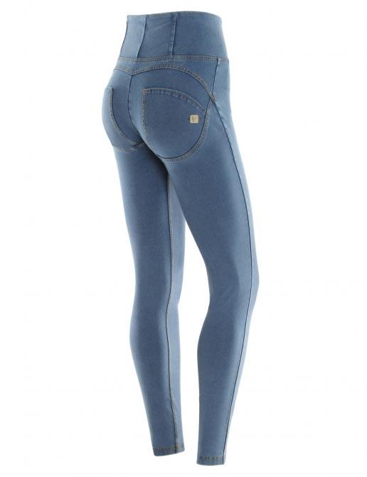 Freddy jeans světle modré, vysoký pas